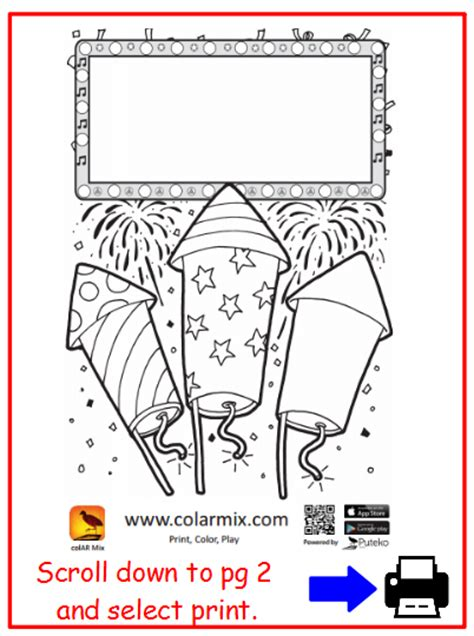 colar app coloring pages sch00l stuff create your own fireworks with colar
