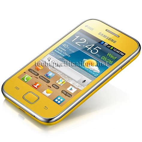 galaxy ace mobile phone technical specifications of samsung s6802 galaxy ace