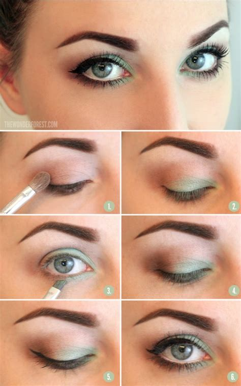 eyeliner tutorial for blue eyes create 16 different makeup looks that will make your blue