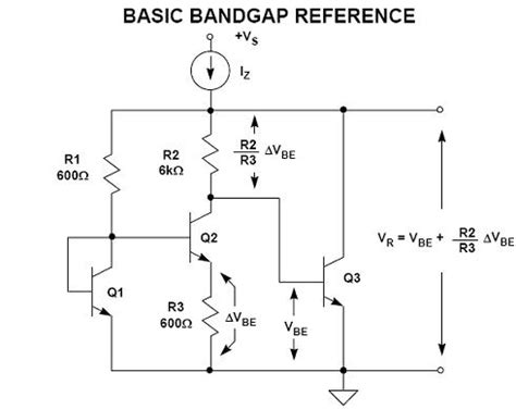 integrated circuits and components for bandgap references and temperature transducers bandgap voltage reference electronics design engineering lounge