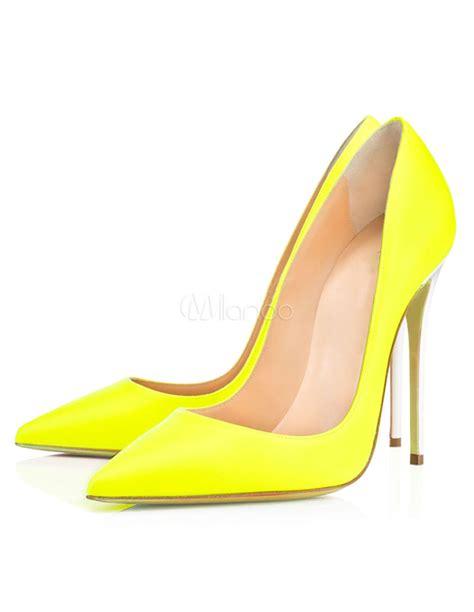 chic high heels pointed toe chic high heels milanoo