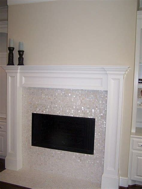 best 25 glass tile fireplace ideas on tiled