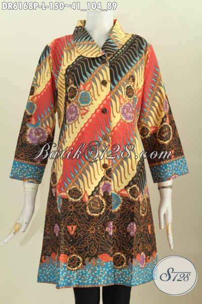 Baju Wanita Muda Baju Dress Batik Wanita Muda Dan Dewasa Ukuran L Pakaian
