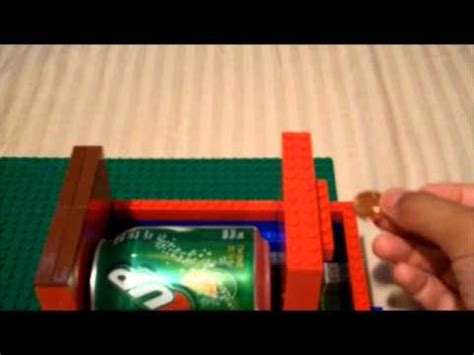 lego tutorial soda machine a cool life size lego soda machine with coin rejection