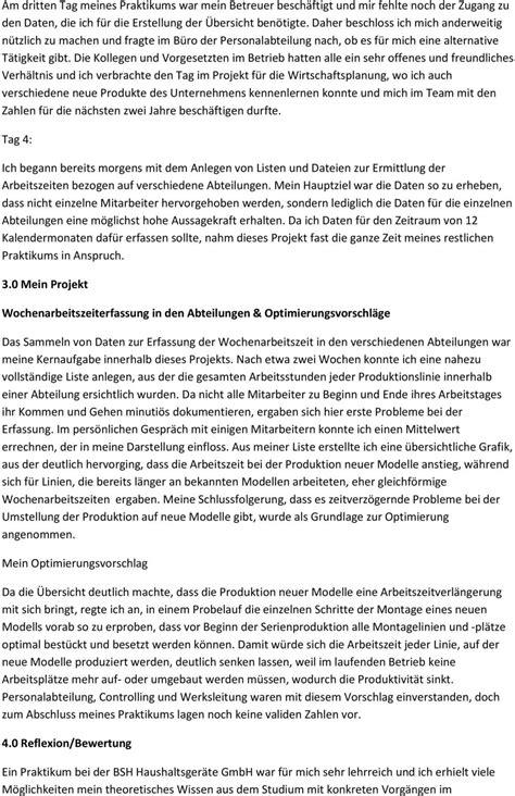 Praktikum Fazit Vorlage tagesbericht praktikum vorlage pdf 28 images 7