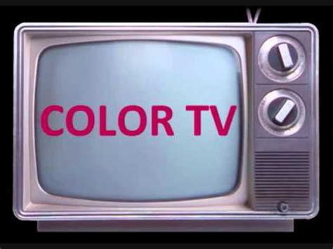 when did color tv start buzzpls