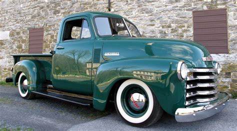 Wheels 52 Chevy Truck Custom 1952 chevrolet trucks 3100