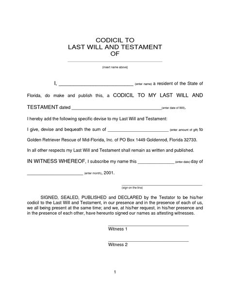 printable last will and testament template free printable wills health symptoms and cure