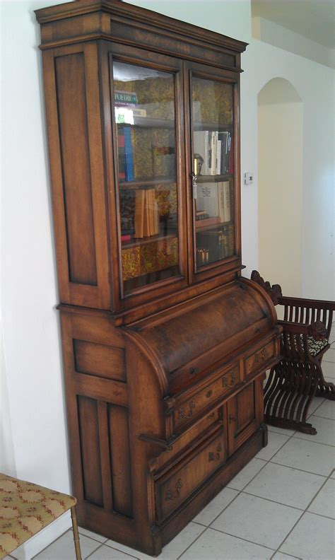 old desk ideas secretary desk with hutch antique ideas greenvirals style