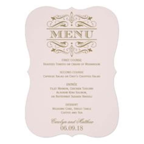 wedding scroll dress and tux card template 1000 images about menu on menu cards menu