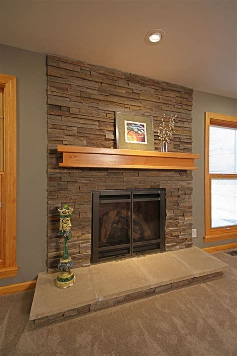 Update Fireplace by Updating A 1960s Ranch Home Fireplace To Be More