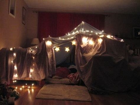 cute romantic themes blanket fort on tumblr