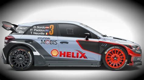 new car for 2016 hyundai unveils new i20 wrc car for 2016 season