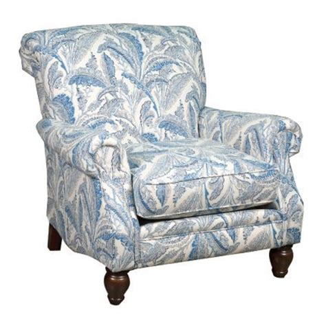 Patterned Accent Chair 37 Quot Blue Patterned Upholstered Accent Chair House Chairs Blue And Upholstered