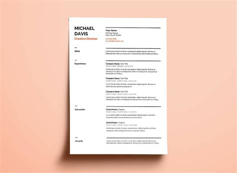 Docs Cv Template by Docs Resume Templates 10 Exles To