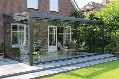 tettoie da giardino copertura in vetro pergole e tettoie da giardino