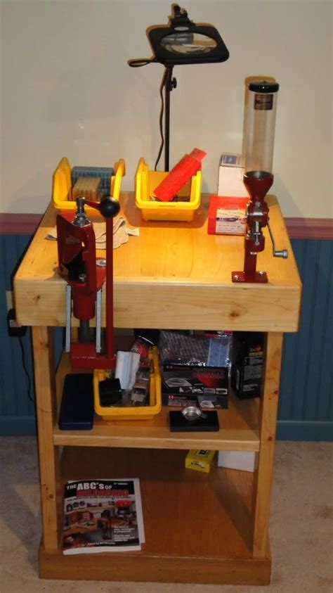 diy reloading bench plans diy reloading bench ruger forum fly tying pinterest