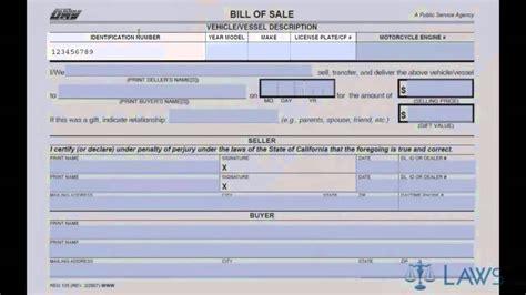 boat car in spanish bill of sale youtube
