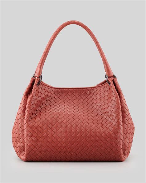 Bottega Veneta Medium Canvas Handbag by Bottega Veneta Doublestrap Woven Leather Hobo Bag Medium