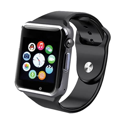 jual onix a1 u10 smartwatch hitam harga