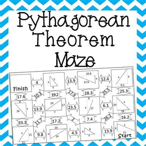 pythagorean theorem worksheet with answer key worksheets