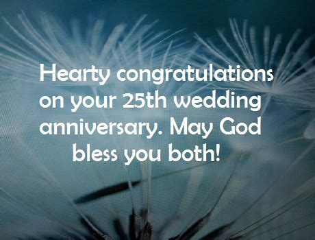 Happy 25th Year Wedding Anniversary Wishes and Quotes