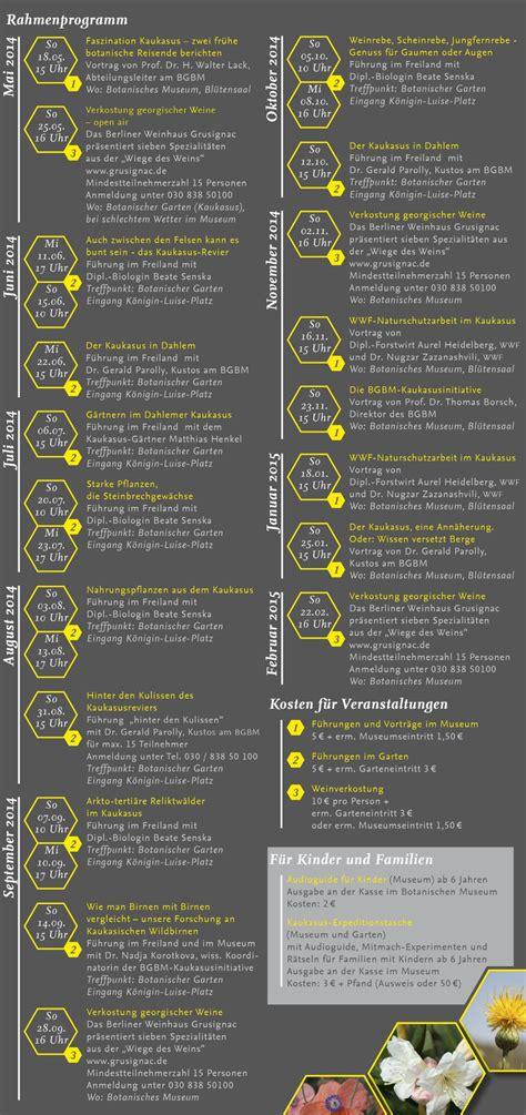 berlin botanischer garten programm rahmenprogramm bgbm