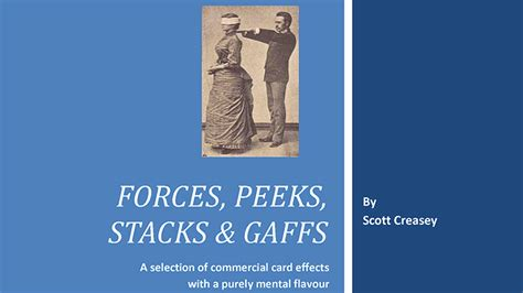 Fixed Fate Aka Predicted fullmagic forces peeks stacks gaffs mentalism with cards by creasey