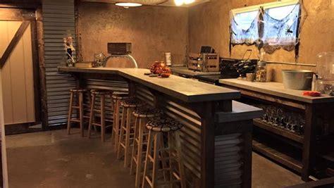 reddit basement living room keg tap built a bar in the basement concrete counter tops 4 taps for home brew kegerator