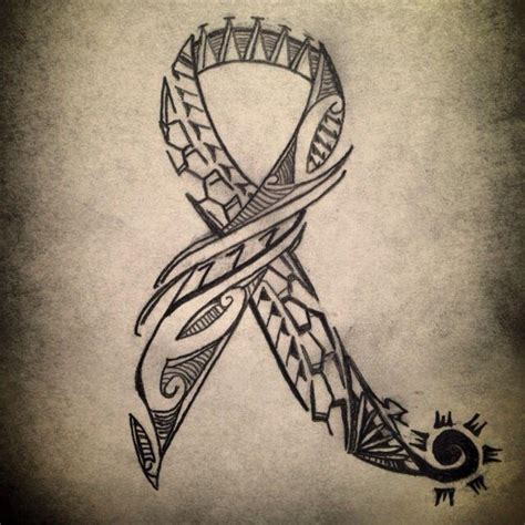cancer tribal tattoo that choose breast cancer tattoos popular designs