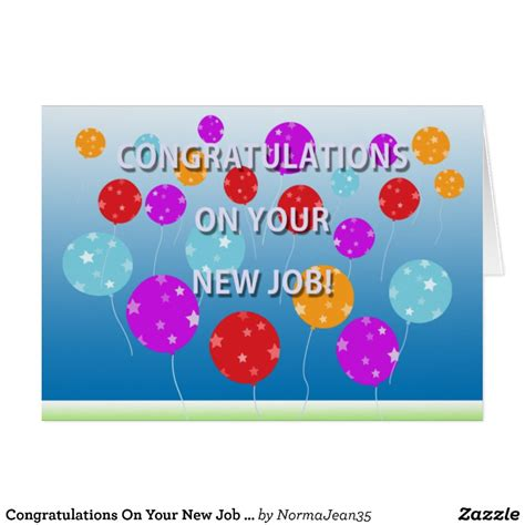 Congratulations On Your New Card Template by Congratulations On Your New Card Zazzle