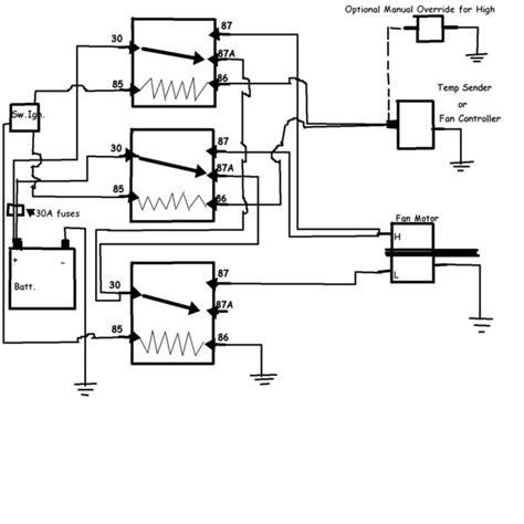 hayden electric fan wiring diagram wiring diagrams