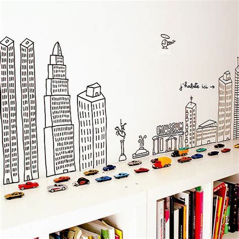 wall stickers for bedrooms kids 6 creative ideas for kids bedroom walls mk kids interiors