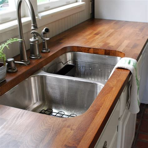 In Countertops by How To Clean A Bamboo Countertops Ward Log Homes