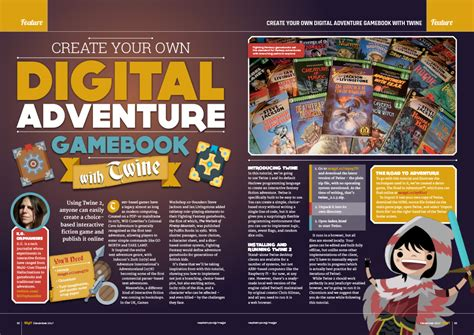make your own python text adventure a guide to learning programming books discover electronics in the magpi 64 the magpi