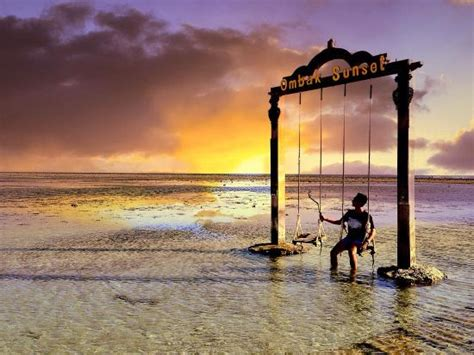 sunset swings prices swimming pool picture of hotel ombak sunset gili