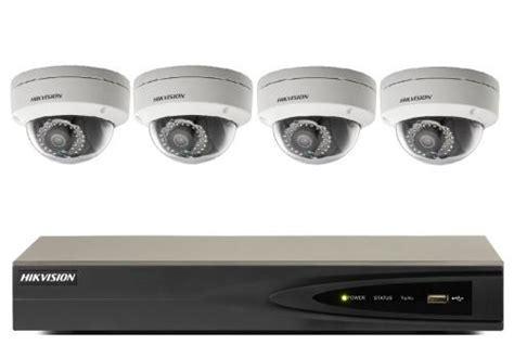 Custom 4ch Hikvision 2mp Hd hikvision nvr and dome kit cctv kits cctv cameras