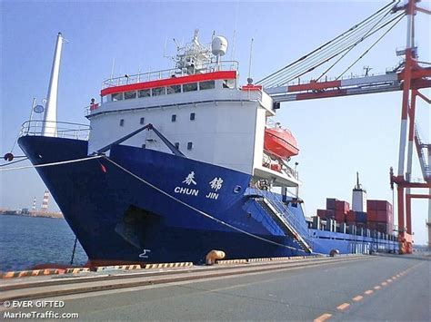 Lu Luster Lt 08 Bunga vessel details for chun jin container ship imo