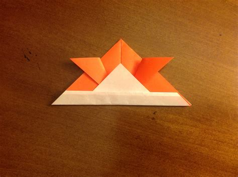 daily origami 17 samurai hat by naganeboshni on deviantart