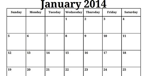 picture calendar template 2014 printable calendar templates