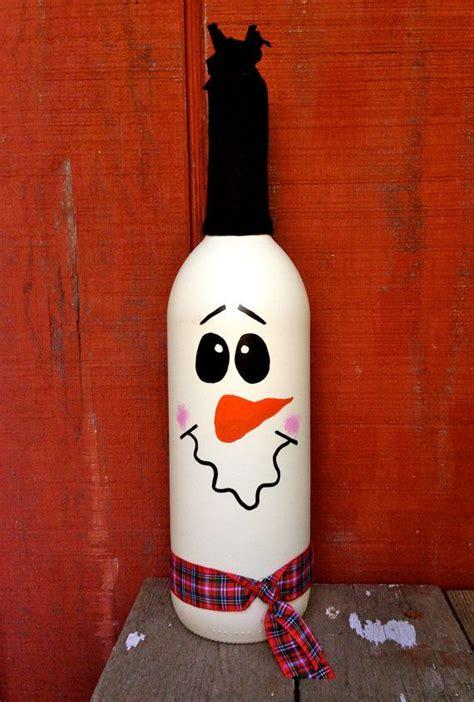7 Pretty Hanukkah Decorations by Snowman Wine Bottle D 233 Cor Wine