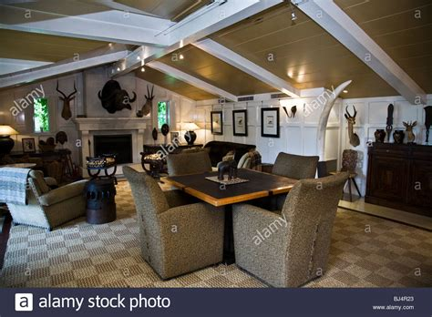 the trophy room the trophy room at huka lodge taupo new zealand stock photo royalty free image 28380075 alamy