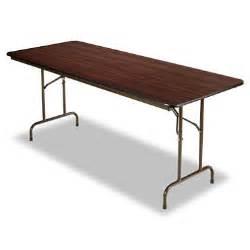 10 Foot Folding Table Alera 72 Quot X 30 Quot Melamine Folding Table Walnut Sam S Club