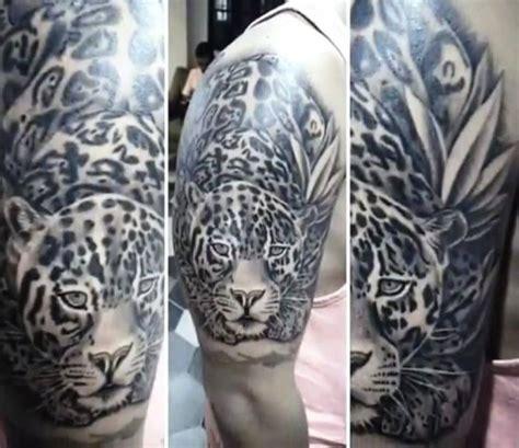 jaguar tattoo black and grey 45 best jaguar tattoos design and ideas