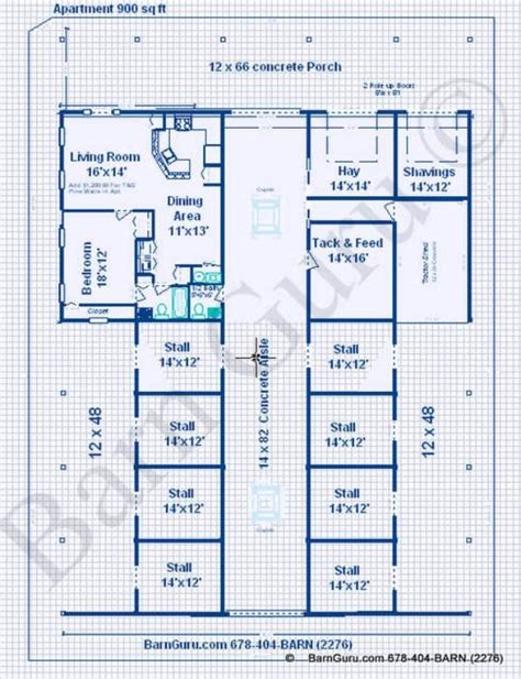 horse barn with apartment floor plans barns with living quarters plans joy studio design