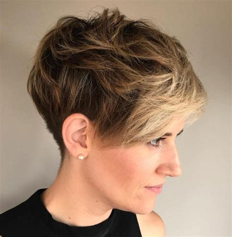 old fashion shag cut hair styes 70 short shaggy spiky edgy pixie cuts and hairstyles