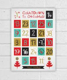 Make Your Own Advent Calendar Template by Printable Advent Calendar Diy Countdown
