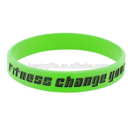 cheap custom silicone wristbands personalized silicone