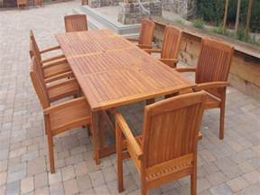 Stain Teak Patio Furniture by Teak Furniture Cal Preserving
