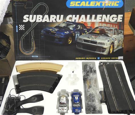 scalextric subaru challenge set
